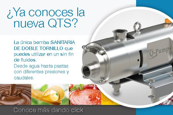 Nueva Bomba Sanitaria QTS Q-Pumps